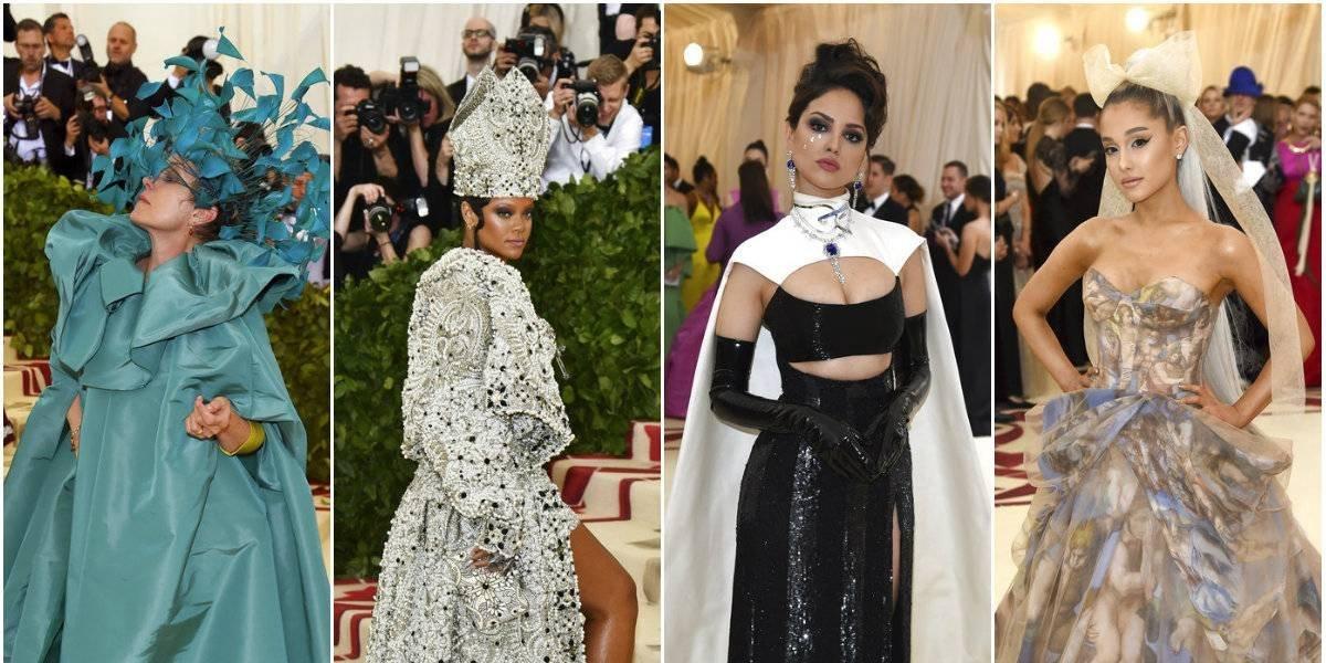 ¿Cuáles fueron los mejores vestidos de Met Gala?