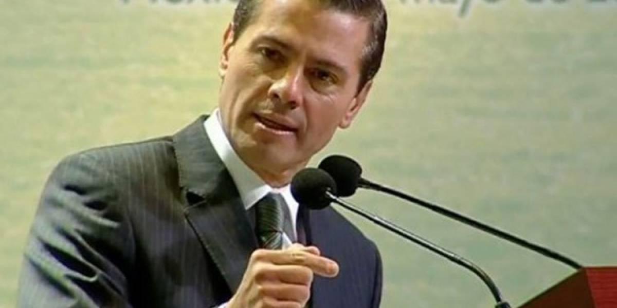 Peña Nieto reconoce a mexicanos por atender protocolos ante sismo