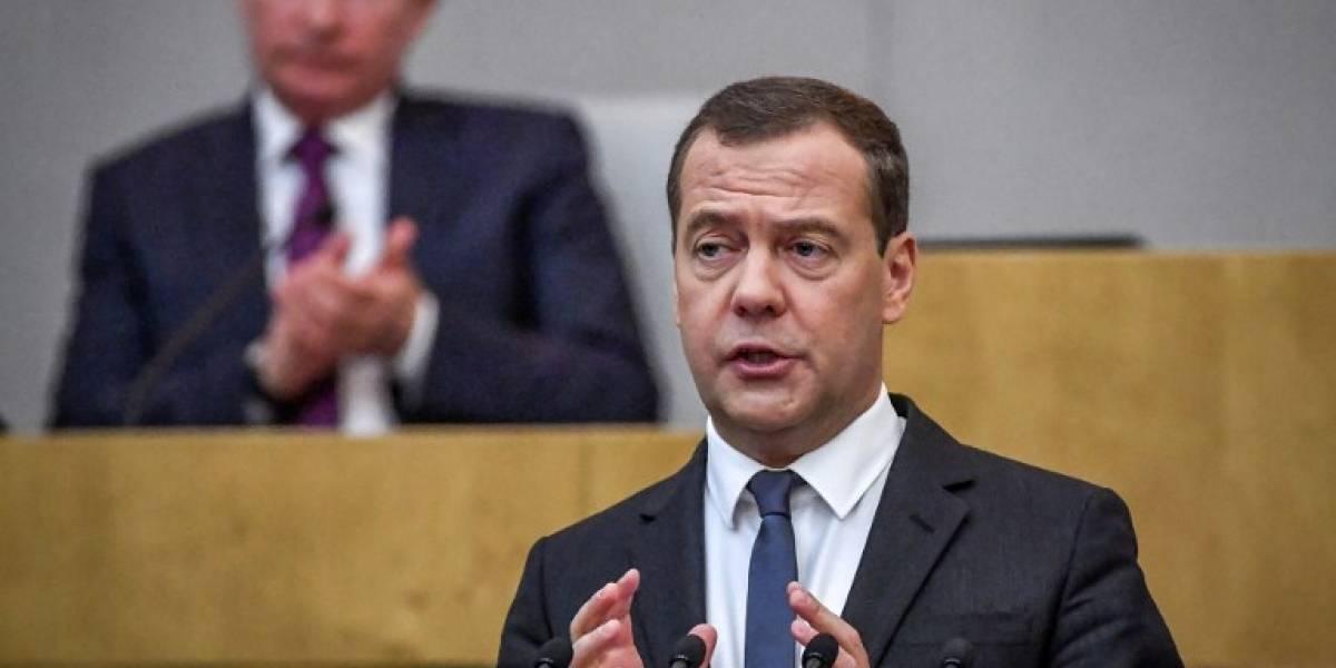 Dmitri Medvedev, nombrado primer ministroruso por el Parlamento