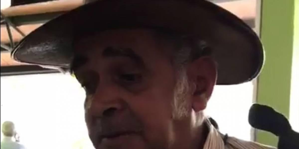 Don José, el campesino discriminado en restaurante de Medellín, podría ser invitado a tocar con los Visconti