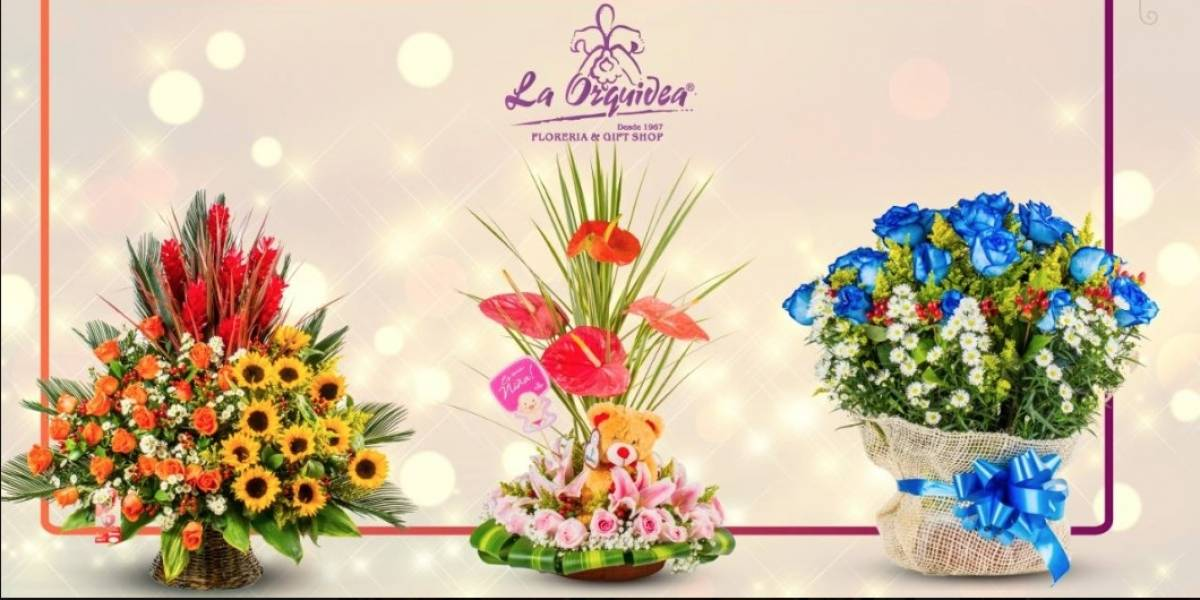 Día de la Madre: Florería La Orquídea crea arreglos florales con maquillajes