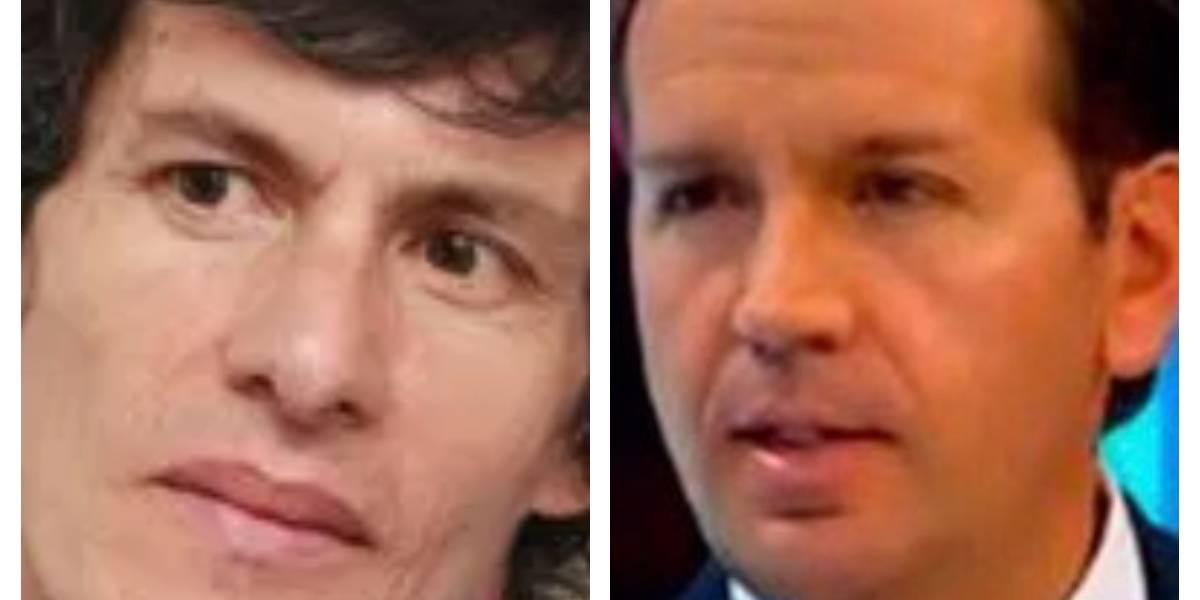 El agarrón del concejal Juan Carlos Flórez y el secretario de Seguridad de Peñalosa en Twitter