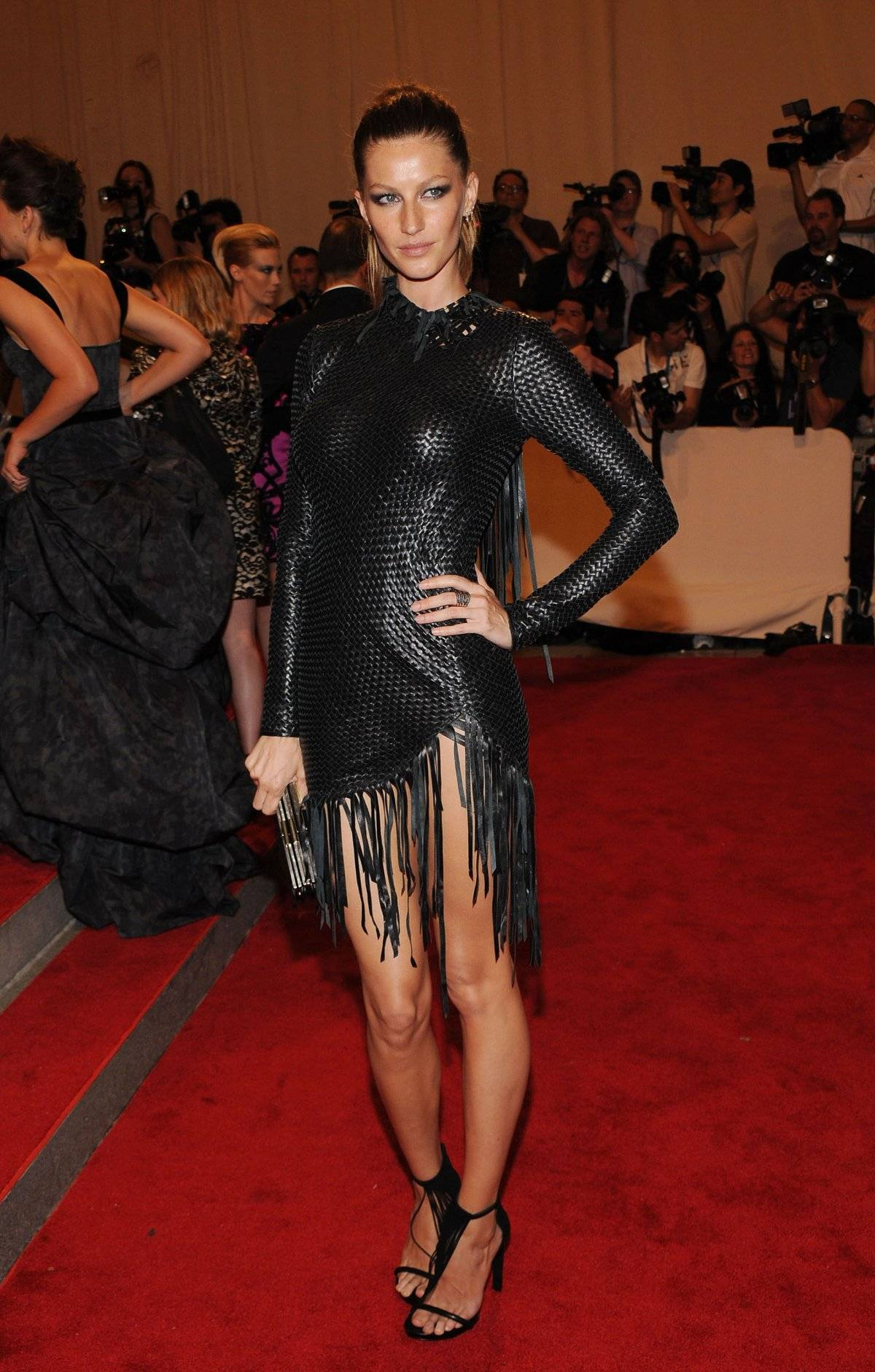 Gisele Bünchen met gala 2010