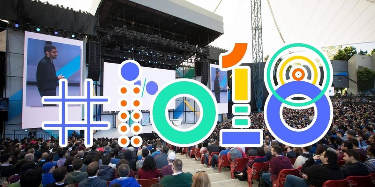 REVISA el streaming de Google I/O 2018 y todo lo que se presentó
