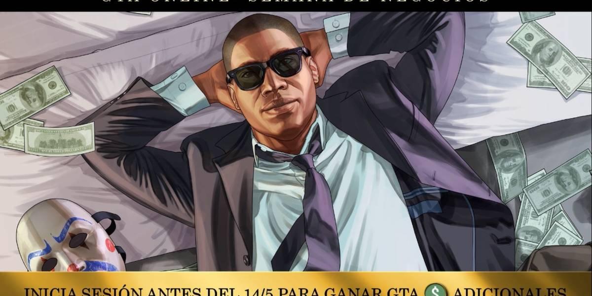 Grand Theft Auto Online comienza la Semana de Negocios regalando GTA$
