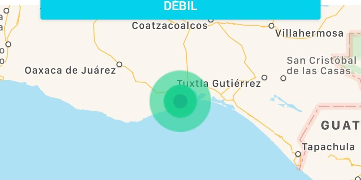 Inquieta sismo este martes en Oaxaca