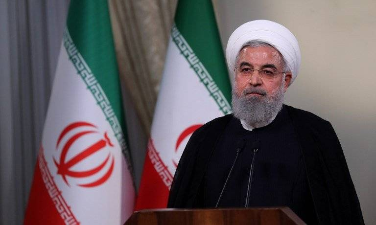 Hassan Rouhani, presidente iraní