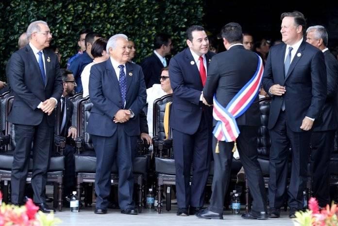 presidente Jimmy Morales en Costa Rica