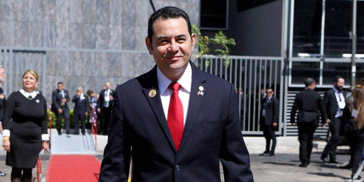 Presidente Jimmy Morales participa en toma de posesión del presidente de Costa Rica