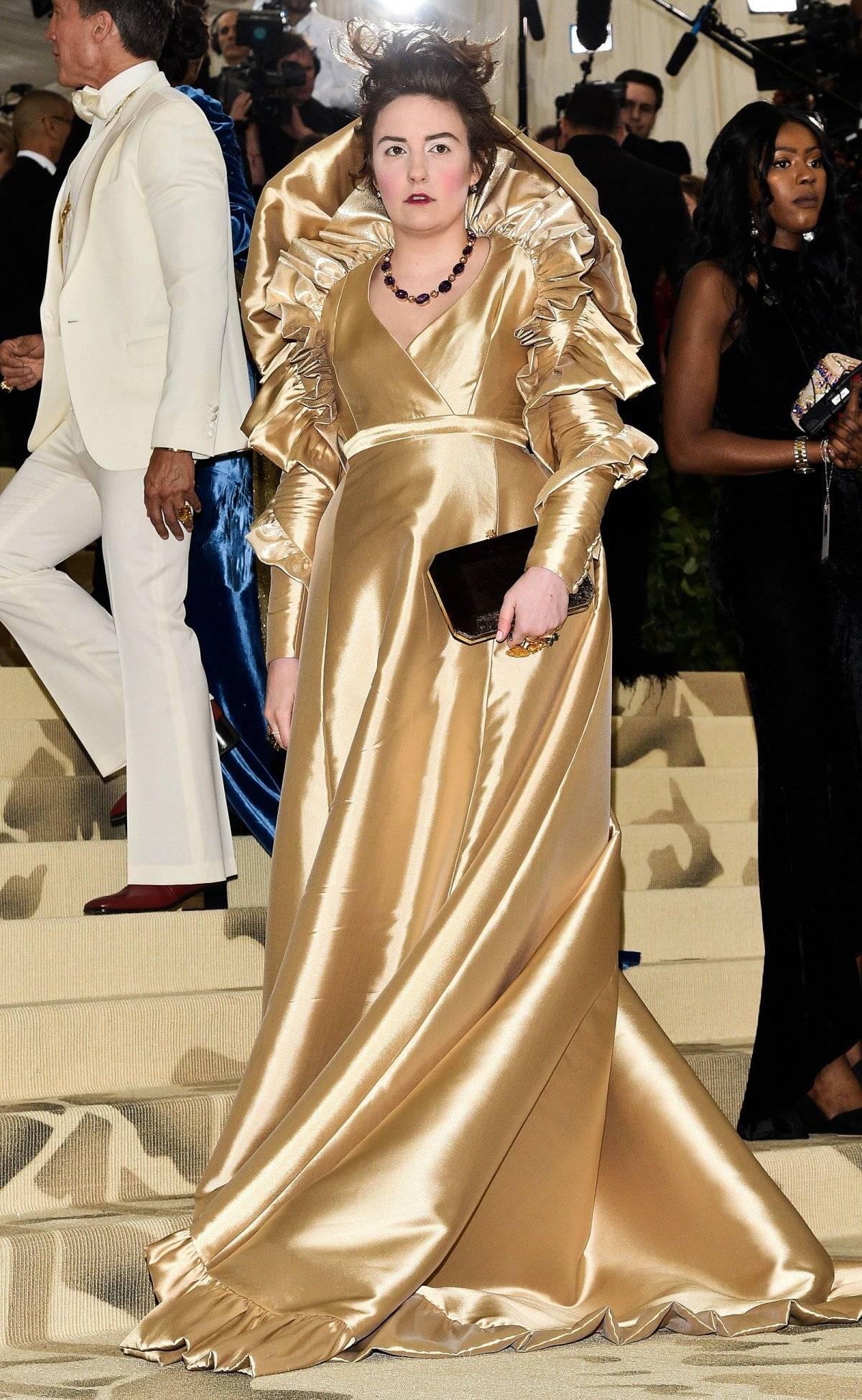 Lena Dunham Met Gala 2018