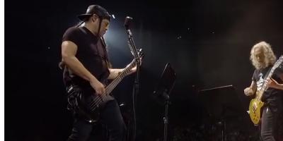 Metallica en Suecia.