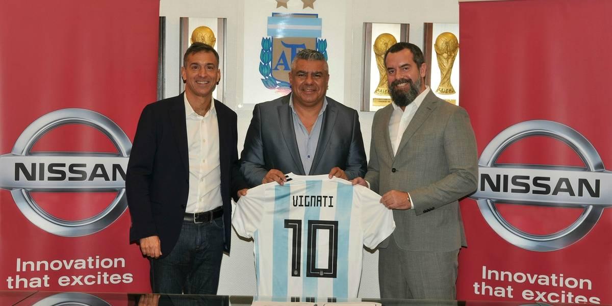 No todo es la Champions League: Ahora, Nissan auspicia a Argentina