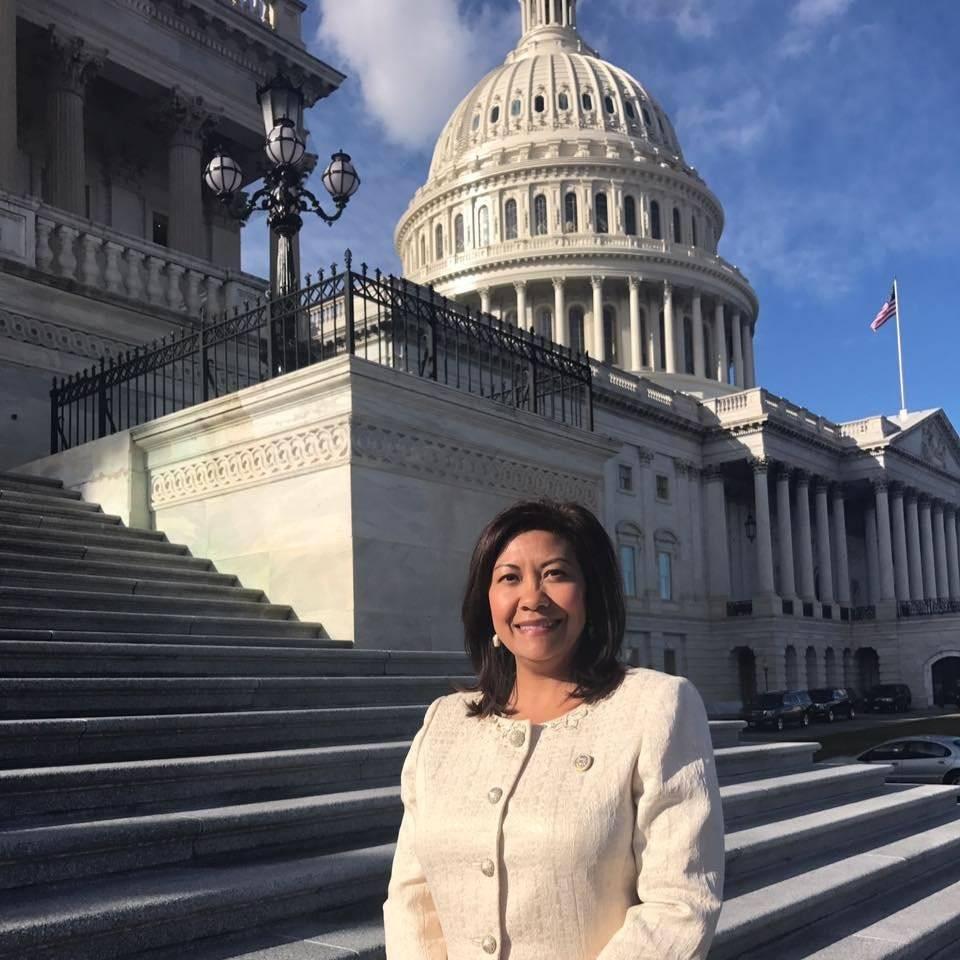 Norma Torres es una congresista estadounidense de origen guatemalteco. Foto: Facebook