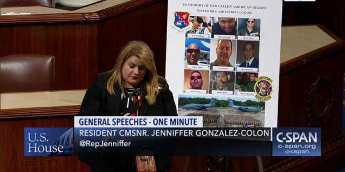 Comisionada residente honra memoria de soldados caídos en accidente