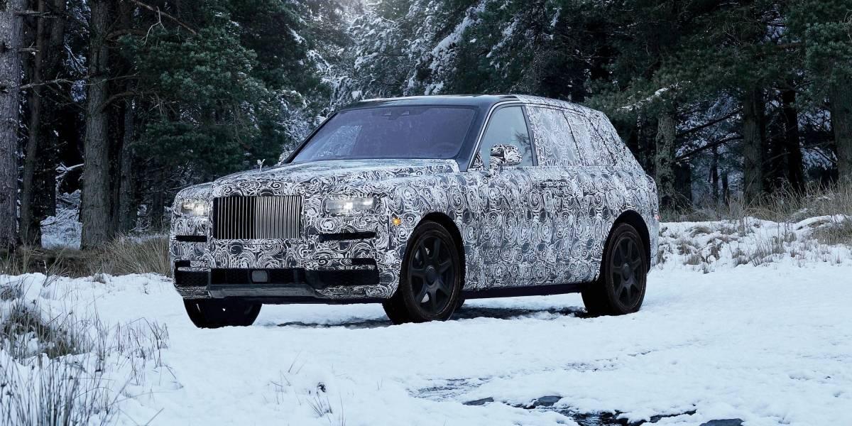 Se estrena el primer SUV de Rolls-Royce