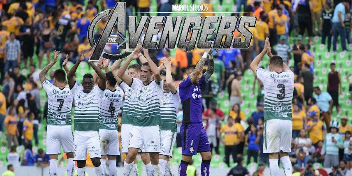 Santos sería campeón del Clausura 2018 gracias a los Avengers