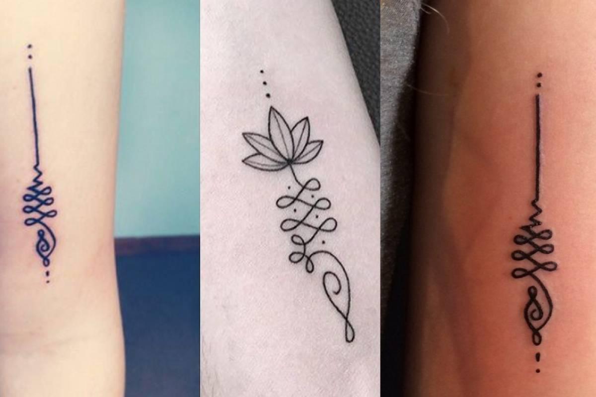 El Significado Del Tatuaje Unalome El Símbolo De La Tradición Hindú