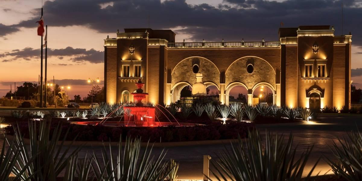 La Hacienda Patrón, una prenda arquitectónica que da vida al tequila mexicano