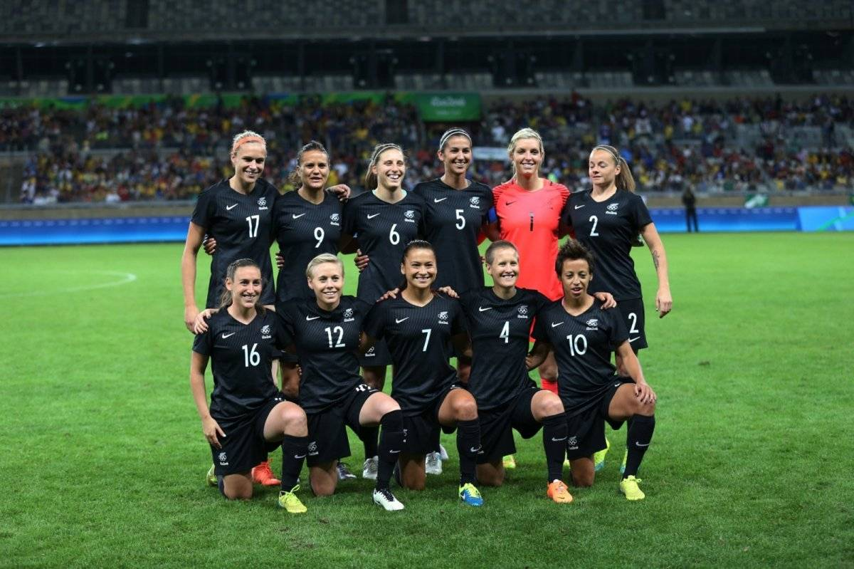 Selección Femenina Fútbol Nueva Zelanda