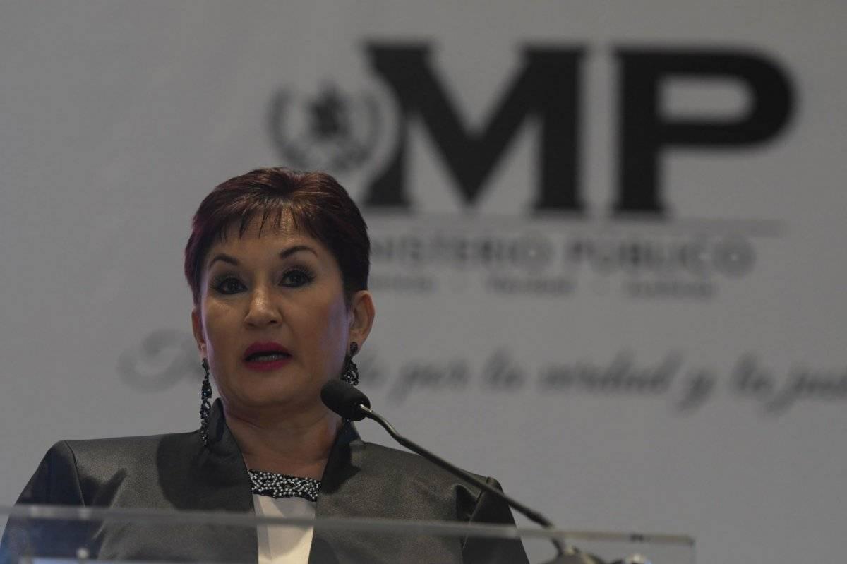 Thelma Aldana le entregará el cargo a la exmagistrada suplente de la CC, María Consuelo Porras. Edwin Bercián