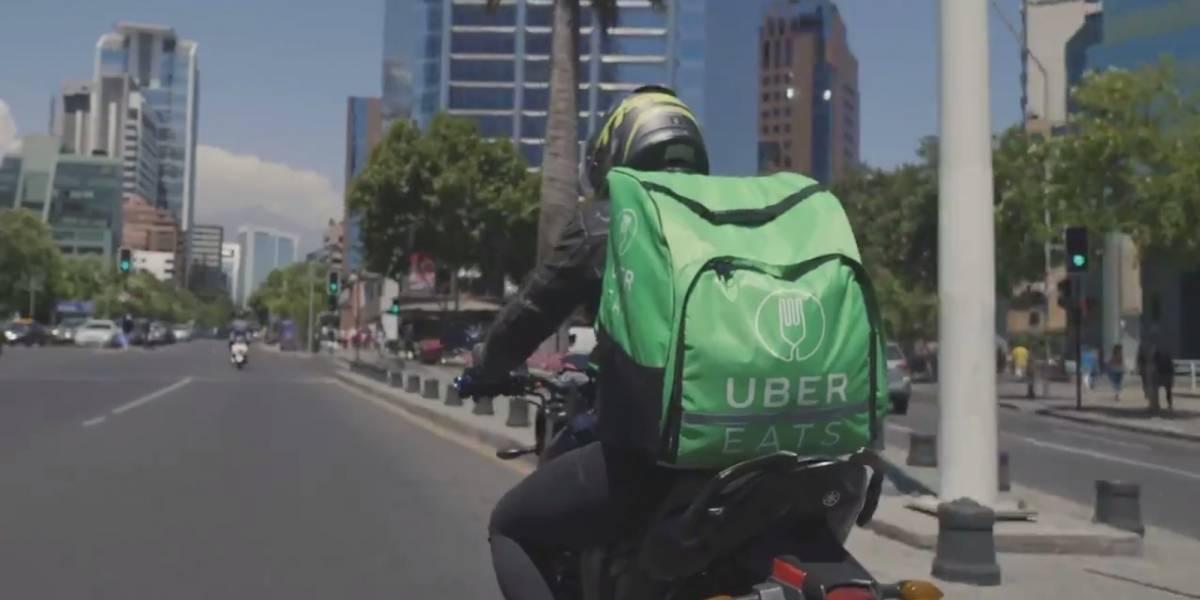Uber Eats no cobrará los envíos en Chile hasta el 20 de mayo