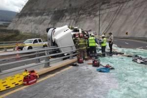 Accidente Guayllabamba