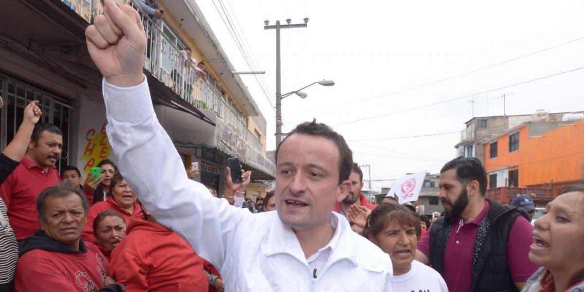 Basta de gobiernos que no garantizan agua ni seguridad, pide Mikel en Iztapalapa