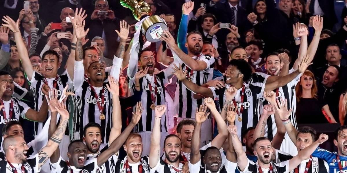 Juventus sigue siendo el monarca del futbol italiano tras ganar la Copa Italia