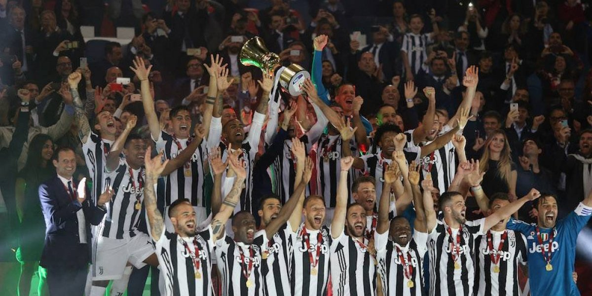 Juventus conquista su cuarta Copa Italia consecutiva