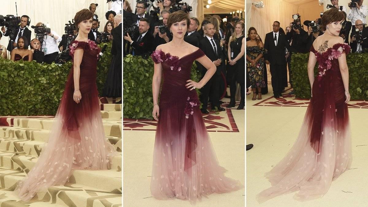 Scarlett Johansson Vestido Met Gala