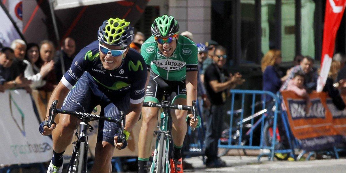 ¡Qué susto! 'Bananito' Betancur evitó caída y sigue protagonizando el Giro