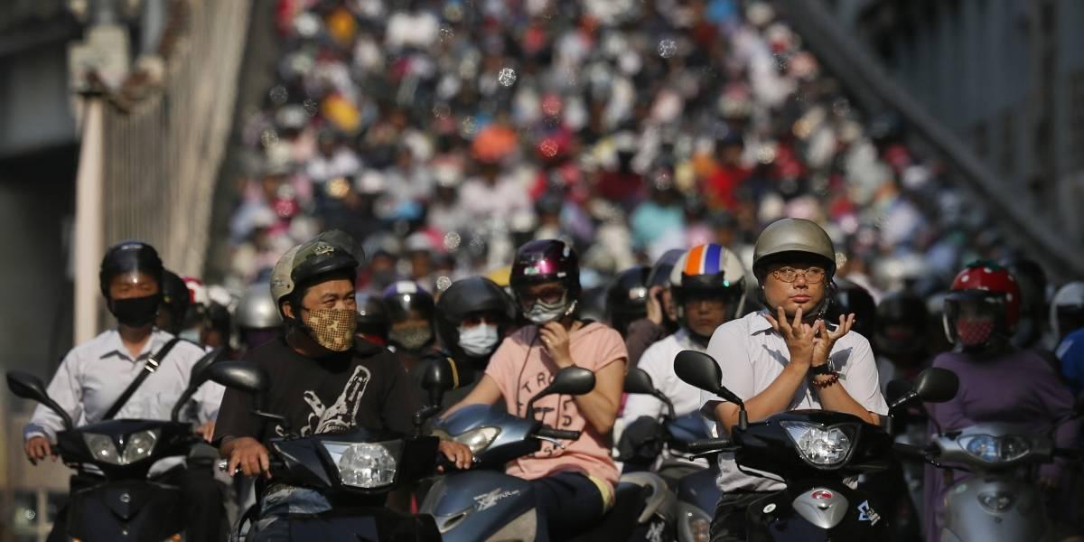 Esta es la verdadera cara de un día normal en el tráfico de Taiwán