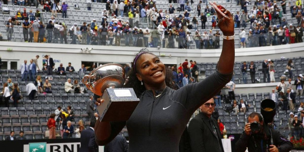 Serena Williams se quita del Abierto de Italia
