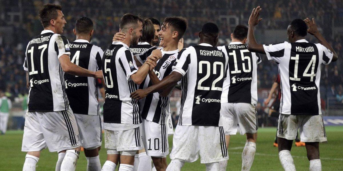 Juventus no se marea con tanta vuelta olímpica y ganó el tetracampeonato de la Copa Italia