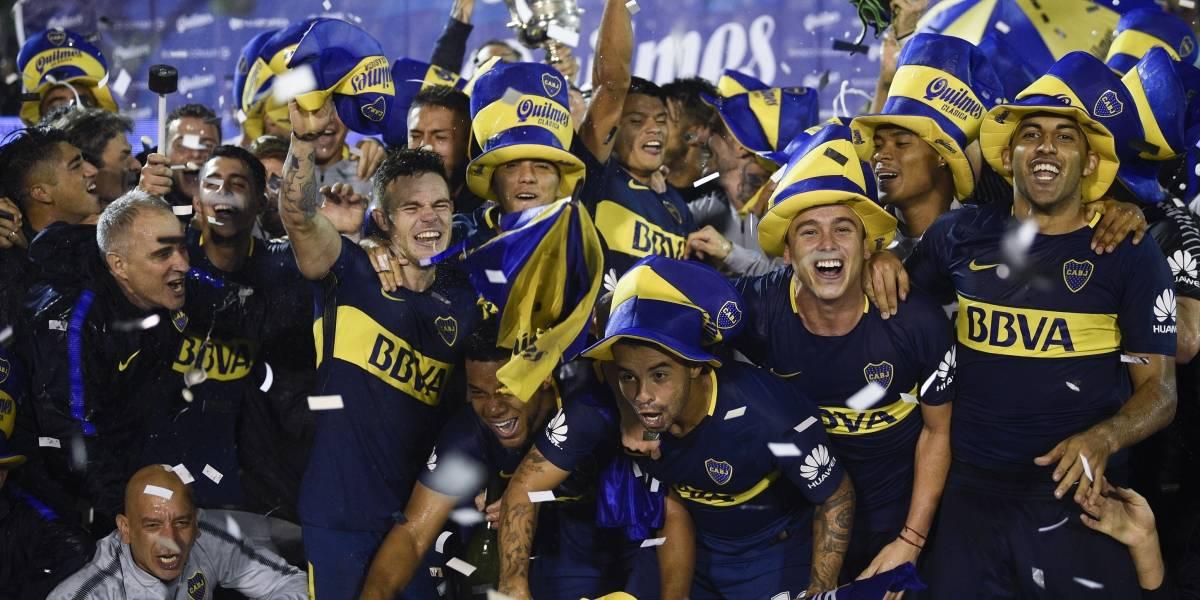 Boca Juniors consiguió el punto que lo alza como bicampeón de la Superliga de Argentina