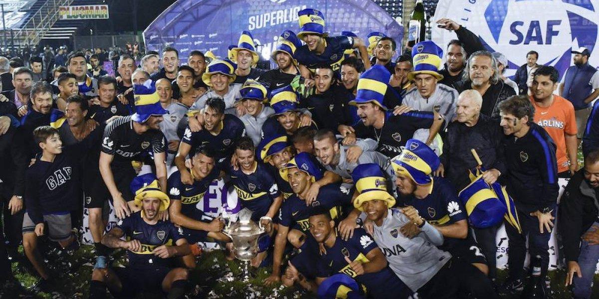 Boca Juniors se proclama bicampeón de la Superliga argentina