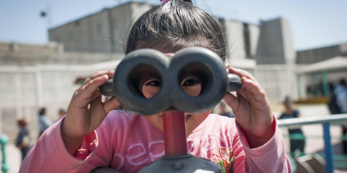 El 88% de reclusas en México es mamá; 417 tiene a hijos en su celda