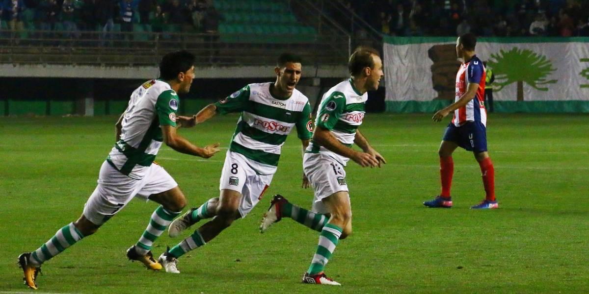 Temuco saca la cara por el fútbol chileno y avanza a la segunda ronda de la Copa Sudamericana