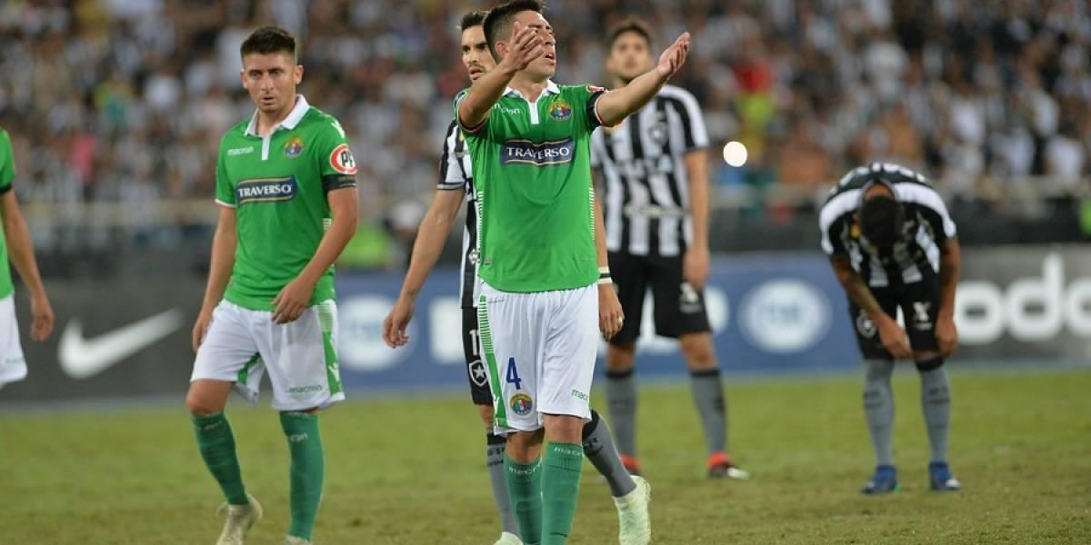 Audax Italiano dio lucha y pese a batallado empate quedó eliminado de la Copa Sudamericana