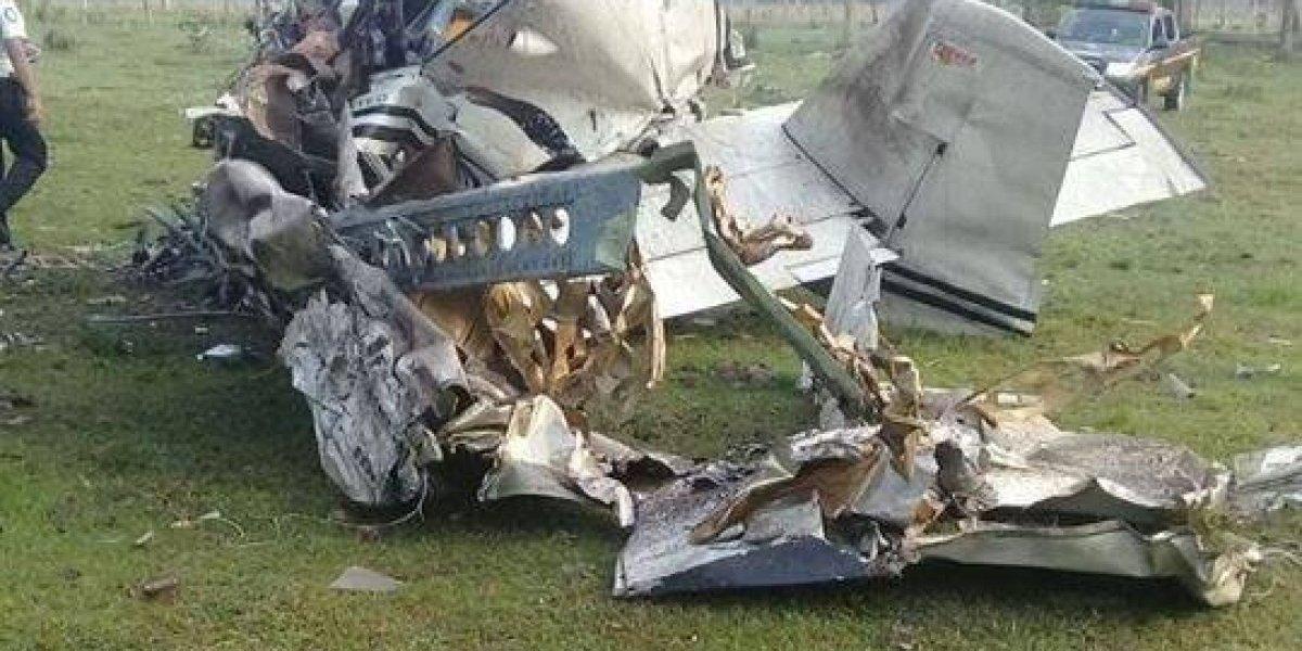 Un muerto tras accidente aéreo en Izabal