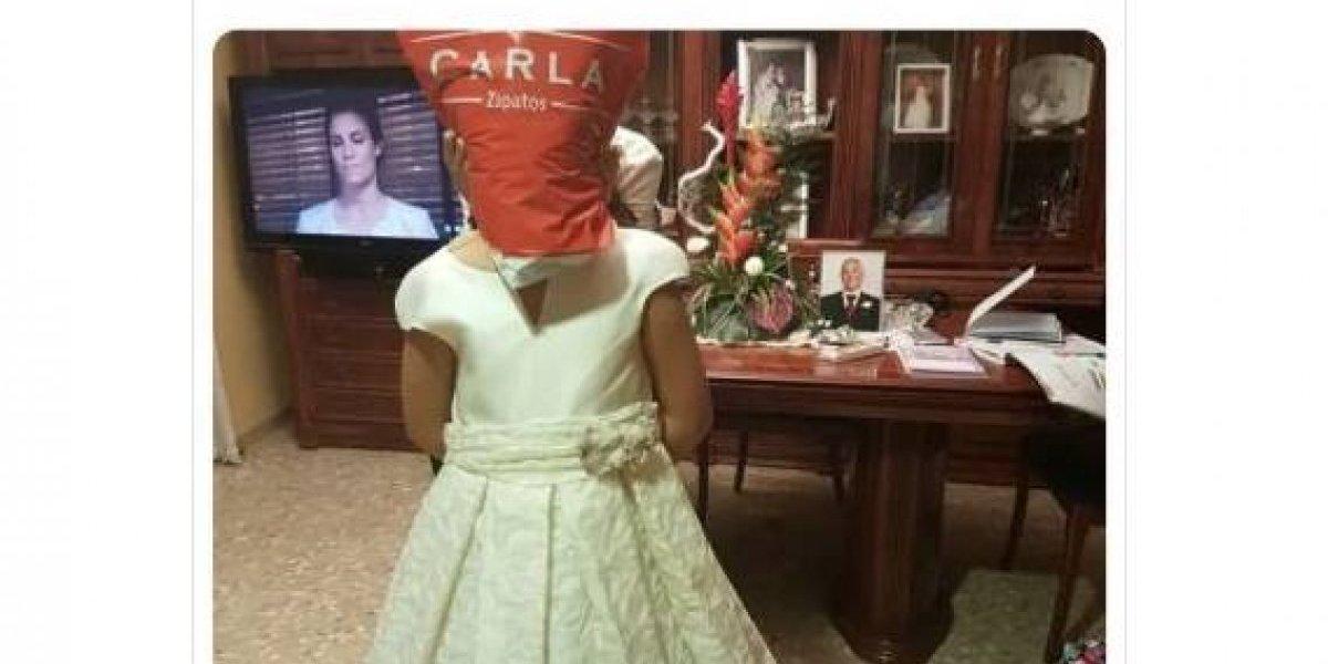 """""""Necesitamos pruebas de que la niña está bien"""": el insólito y """"perturbador"""" aviso que publicó en internet para vender un vestido de primera comunión"""