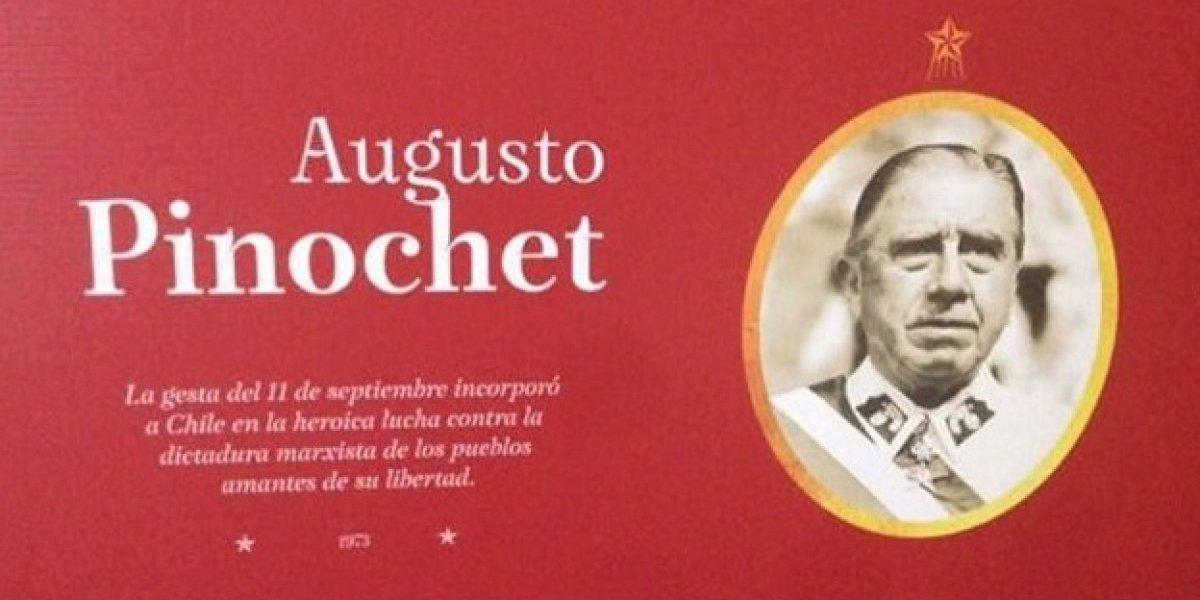 Frase de Pinochet provoca salida de director de museo