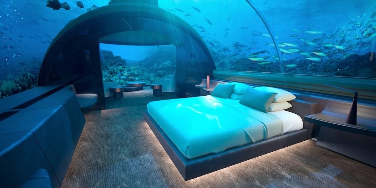 Sumérgete en la primera residencia submarina del mundo