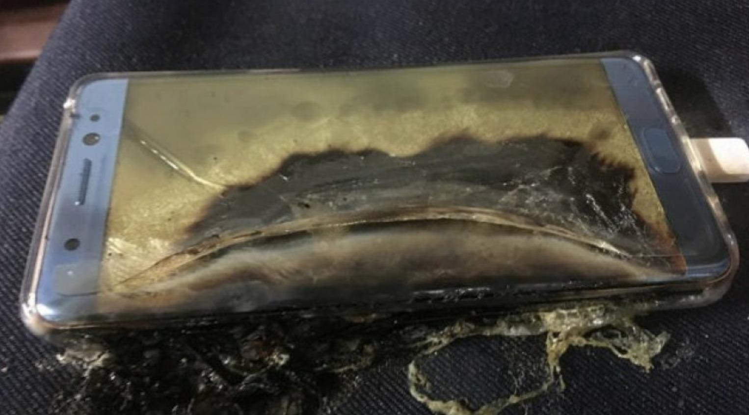 Samsung contesta sobre el Galaxy™ que estalló en México(pais) y causó quemaduras