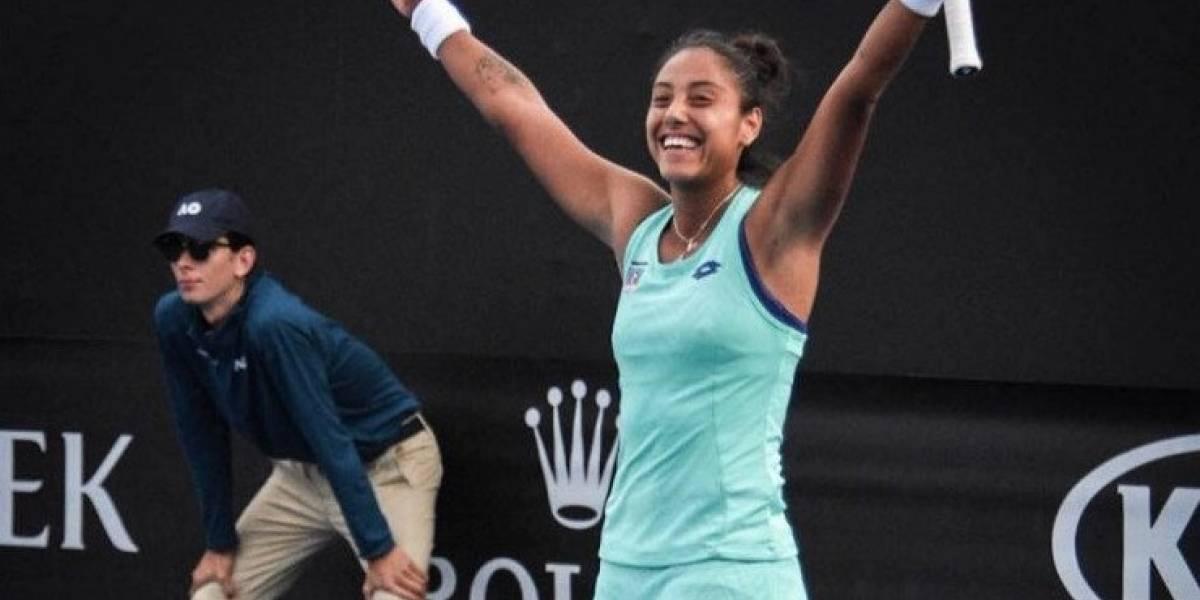 Daniela Seguel sumó otro triunfazo a su gran 2018 y se metió a cuartos en ITF de Francia