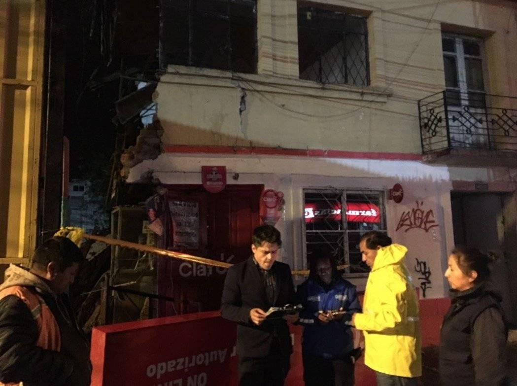 Seguridad Quito Familia fue afectada por colapso estructural en Quito