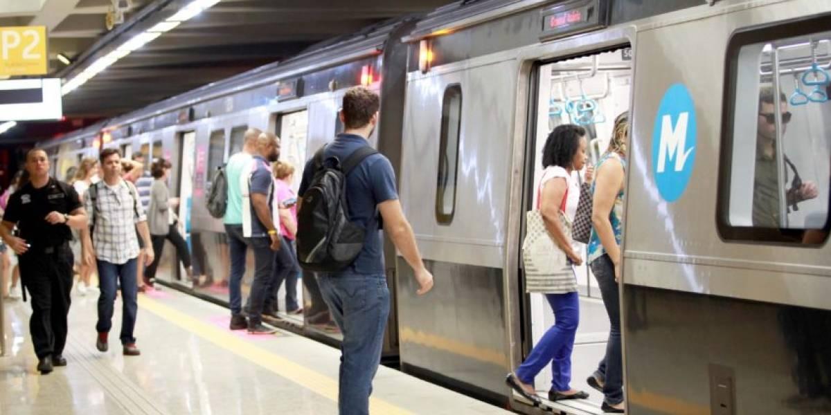 Homem é preso após ejacular em perna de mulher no Metrô do Rio