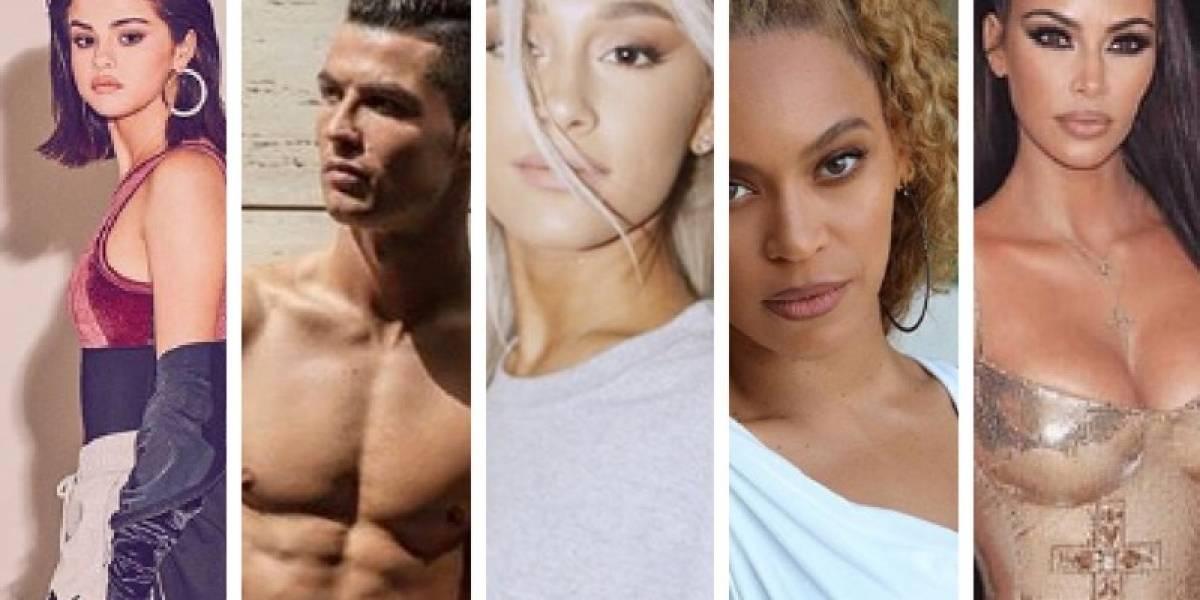 Essas são as cinco maiores celebridades do Instagram