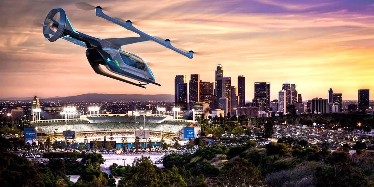 Embraer apresenta conceito de carro elétrico voador em evento da Uber