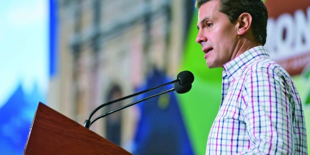 Voten con la razón, no con la víscera: Enrique Peña Nieto en su visita a Nuevo León